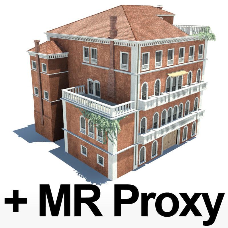 house mr proxy 3d model