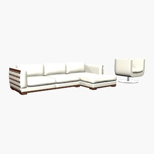 kelvin giormany vestibule sofa armchair 3d max