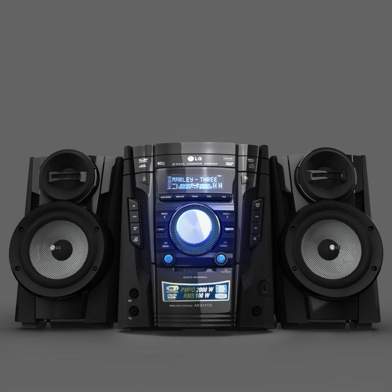 3dsmax lg music
