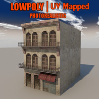 Lowpoly Building Build_X3