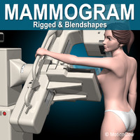 3d model mammography mammogram