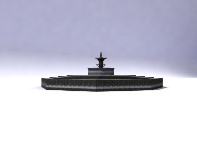 ancient fountain 3ds