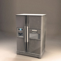 3ds max refrigerator