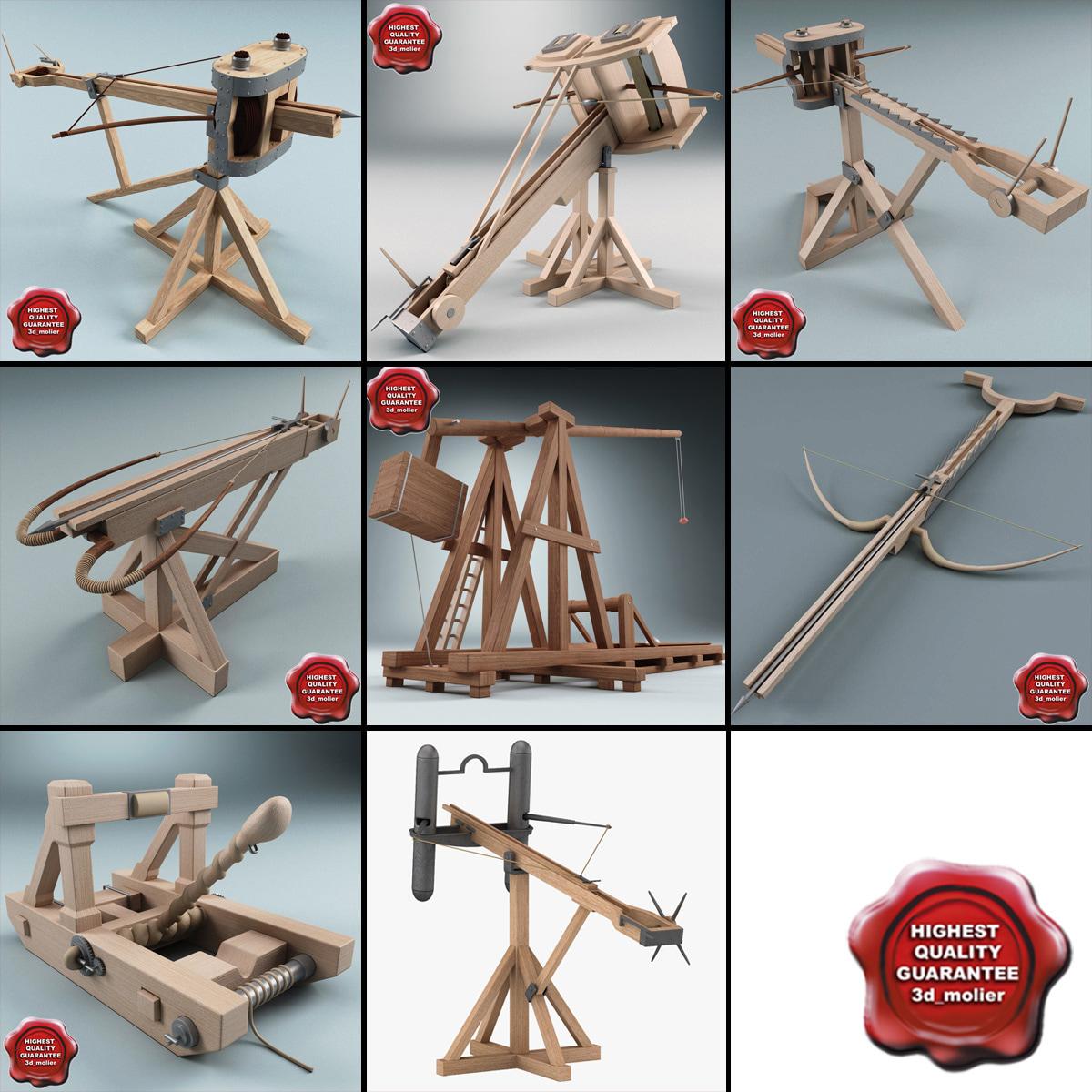 3d siege weapons 2 model