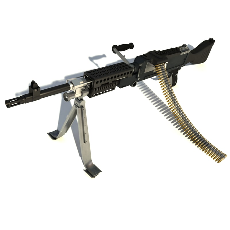 maya m240 machine gun weapon
