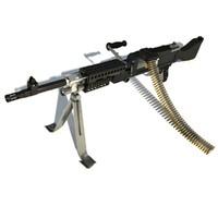 maya m240 machine gun weapon