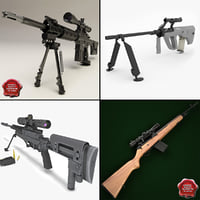Sniper Rifles Collection