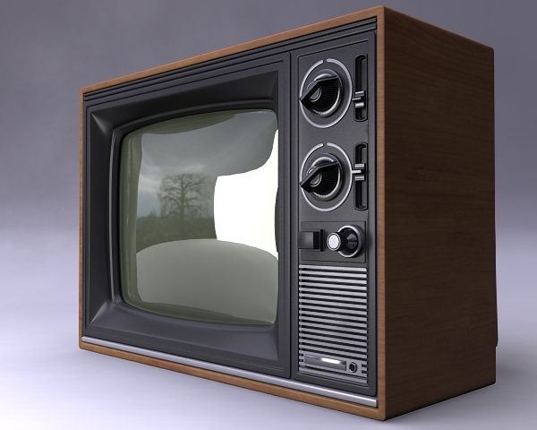 3ds max tv set