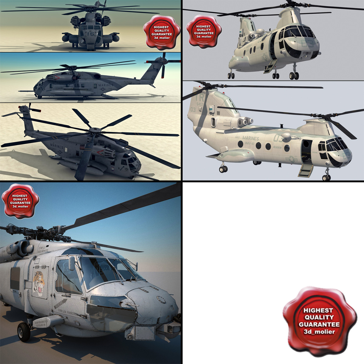 3d navy helicopters