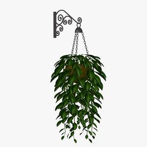 plants copper 3d obj