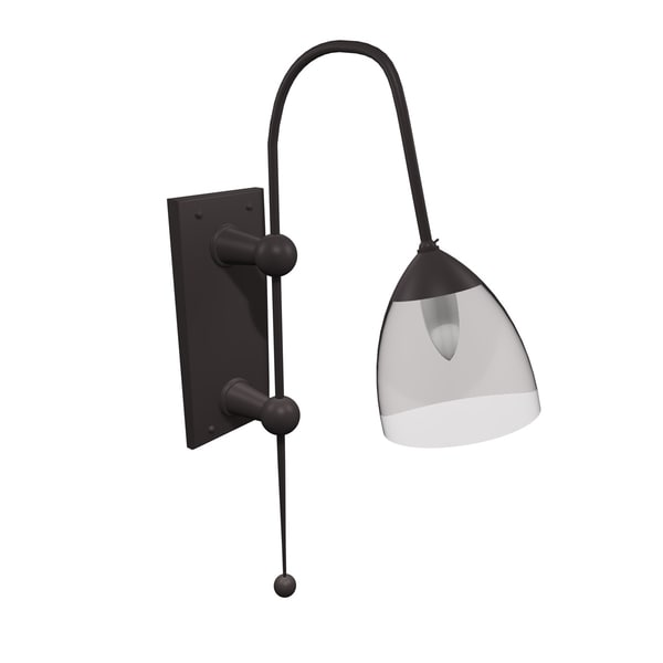 gothic wall lamp light 3ds