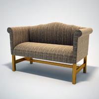 3d model classical banch