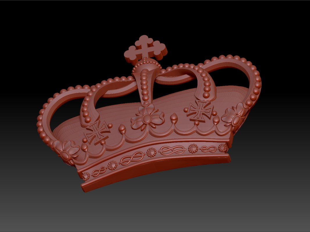 crown stl 3ds