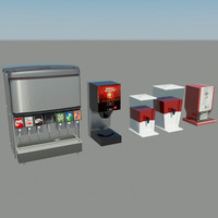 3d drink juice tea model