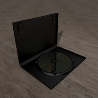 3d model dvd case