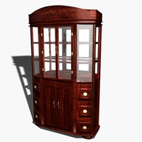 Wine Hutch_cherry