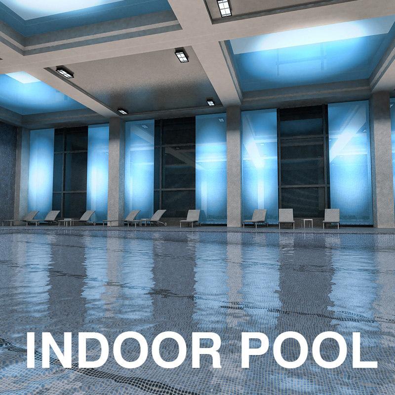 3ds max swimming pool