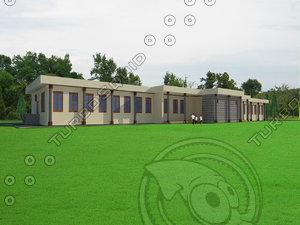 architecture 3ds