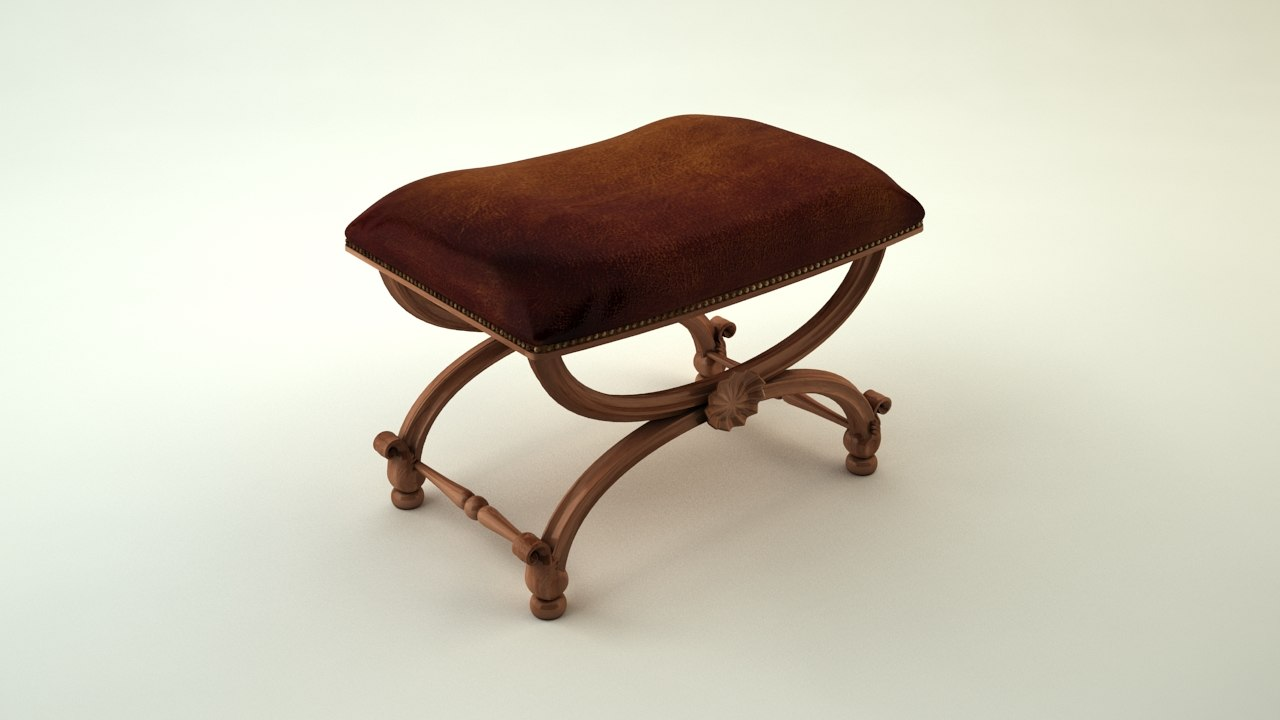 jonathan charles carved stool max