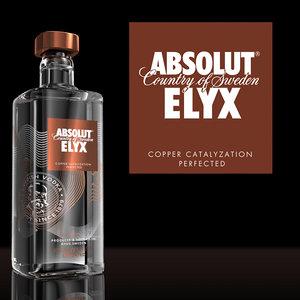 3d model absolut elyx
