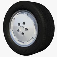 3d wheel rim sport stock model