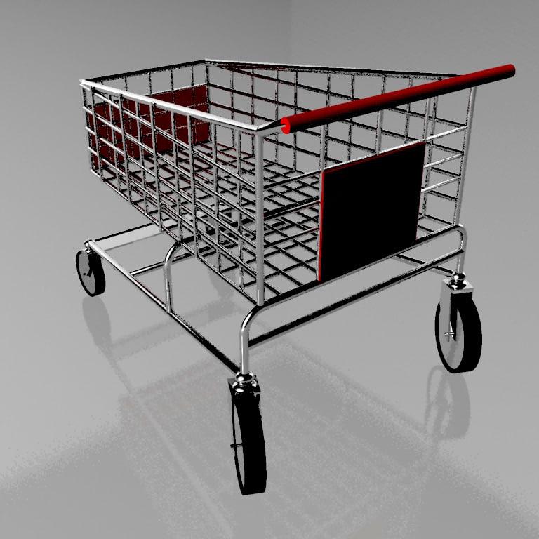 3d cart trolley