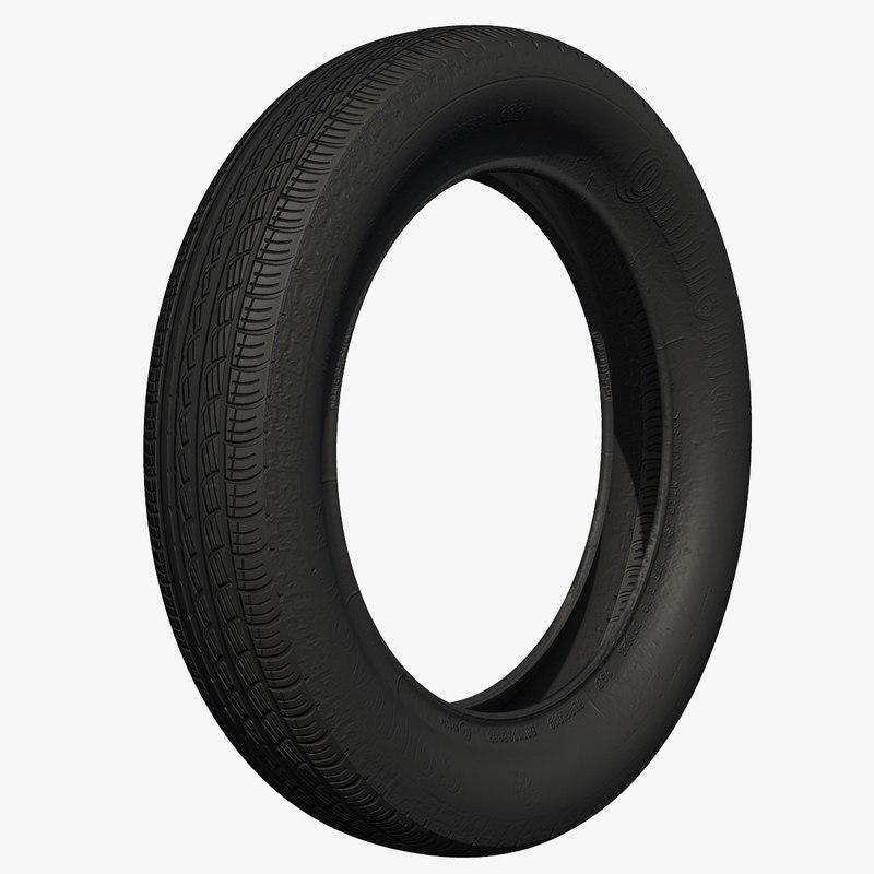 3ds max rubber tire wheel