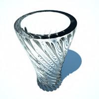 Twisted Spiral Vase