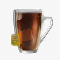lipton glass 3d model