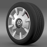 3dsmax beetle design 2012 wheel