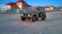 army gaz 69 3d model