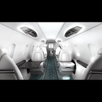 Airplane Interior Learjet 85