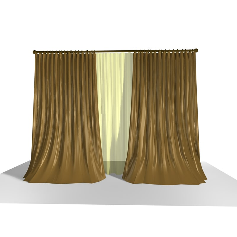 3ds max curtain 17
