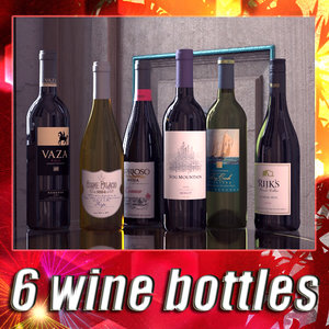 6 wine bottles collections max