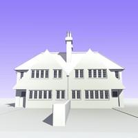 British 2 Storey Semi Detached House Unit 8(1)