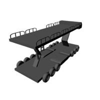 3d airport loader