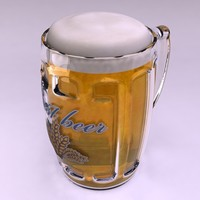 maya beer mug pint