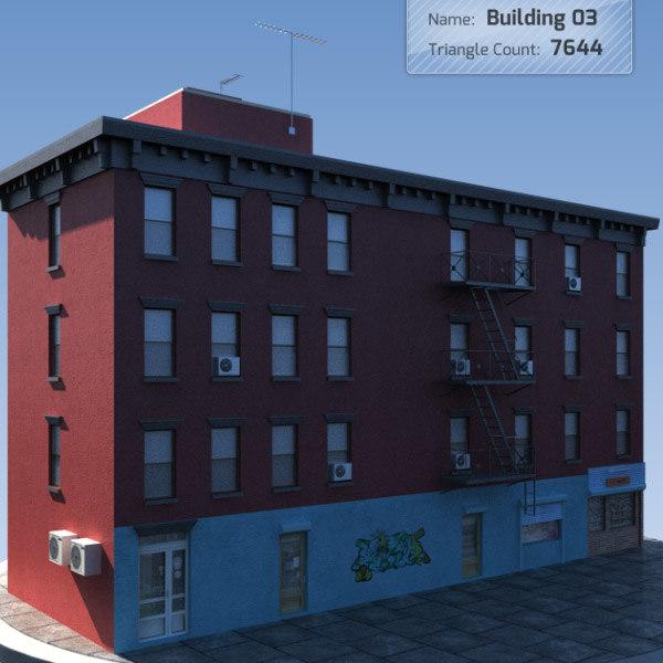3d model building games 3