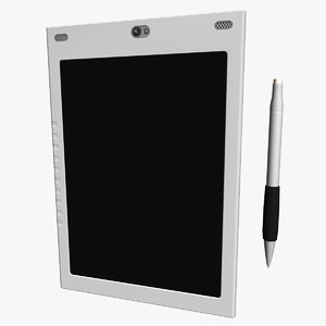 clipboard tablet 3d model