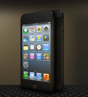 3d model iphone 5 phone