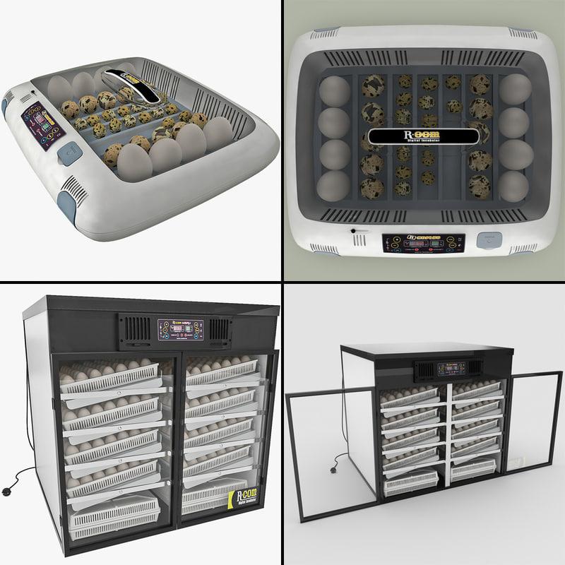 3d egg incubators 2 model