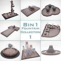 Fountain Pack 8 in 1