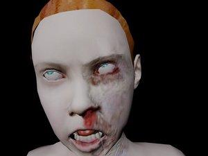 3d kid zombie jonny