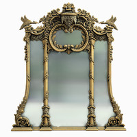 althorp mirror 3d model