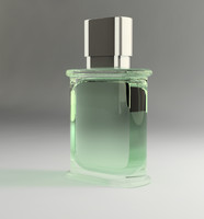 dxf short perfume bottle