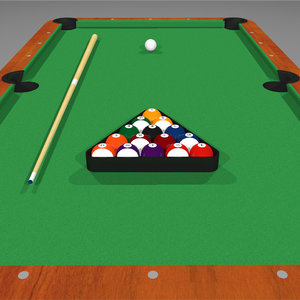 3d c4d pool billiards