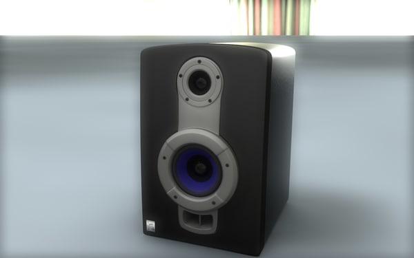 3d model powered studio