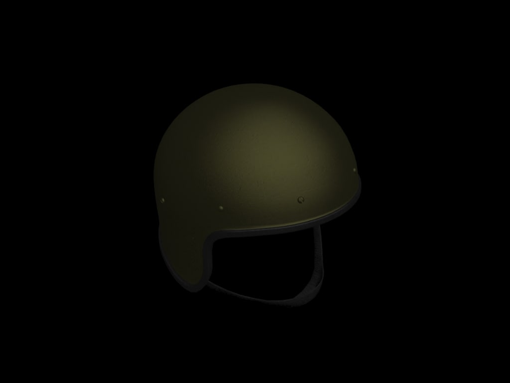 russian helmet spetsnaz 3d model