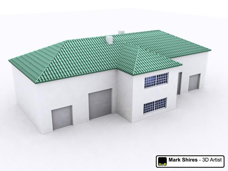 3d building generic model