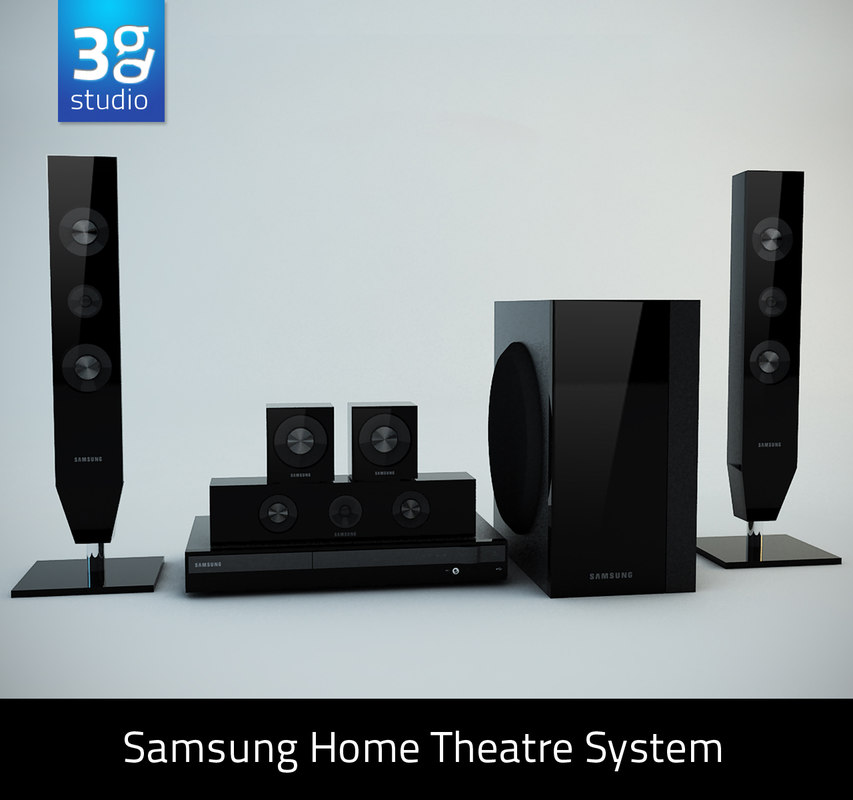 3d 3ds samsung home theatre